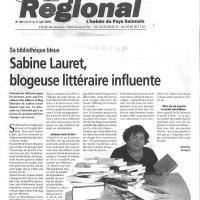 Le Régional - 12 août 2010