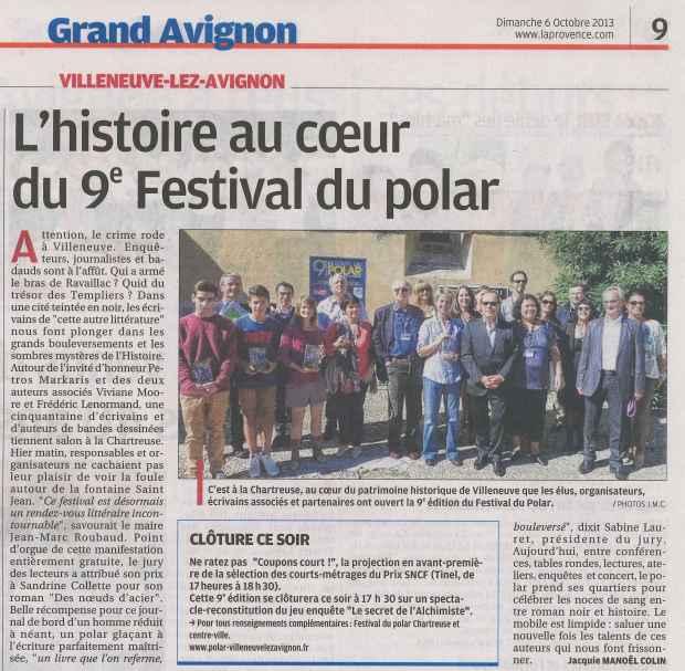 La Provence - 6 octobre