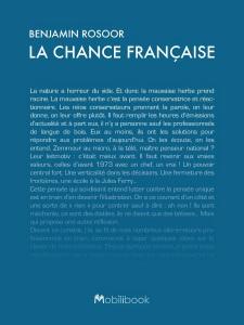 la_chance_francaise_benjamin_rosoor_bibliobleu_blog_litteraire_sabine_essai