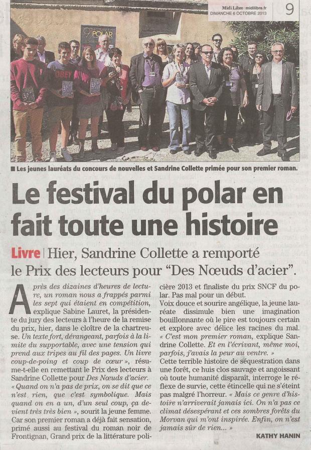 Le Midi Libre - 6 octobre 2013