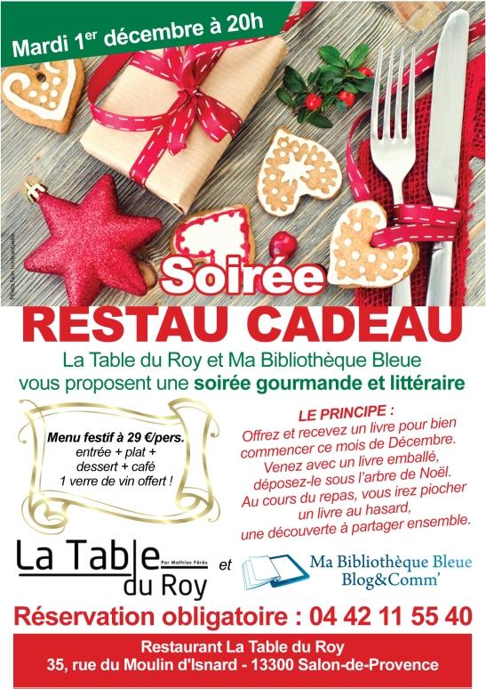 Affiche Soiree Resto Cado - Salon de Provence