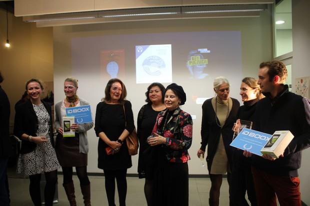 Les lauréats réunis (ActuaLitté, CC BY SA 2.0)