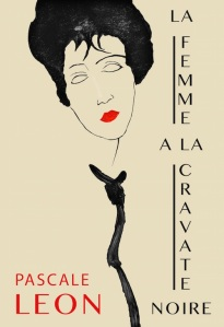 Pascale Leon La femme a la cravate noire
