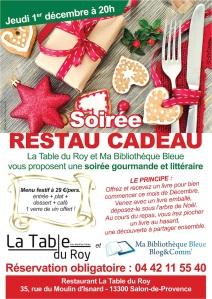 Affiche café littéraire Pascal Demeure - Salon de Provence
