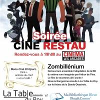 Soirée ciné+restau : Zombillénium