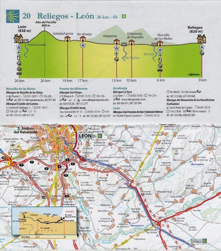 Carte Michelin Zoom Espagne.Camino De Santiago Carte Zoom Michelin N 160 Ma