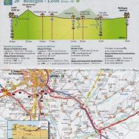 Camino de Santiago - Carte zoom Michelin n°160
