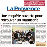 La Provence - 18 septembre 2019