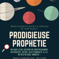 Prodigieuse Prophétie - Journées européennes du patrimoine 2019