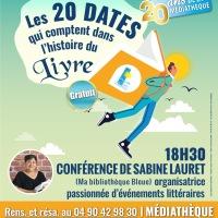 Conférence : Les 20 dates qui comptent dans l'histoire du livre