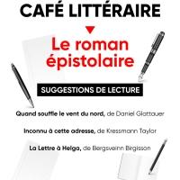 Café littéraire : le roman épistolaire