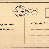 Carte postale littéraire #7 - Japon