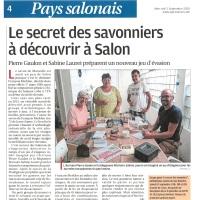La Provence - 02 septembre 2020